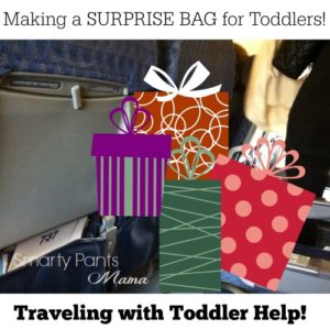 Flying with Toddler Tip