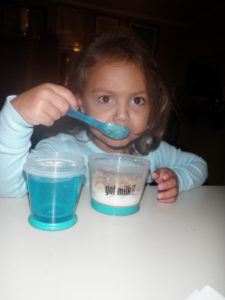 Got Milk for Breakfast? I Did at BlogHer and My Daughter Did at Home!