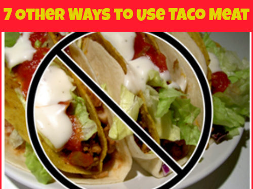 Ideas for leftover taco meat