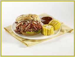 Hormel BBQ Burger