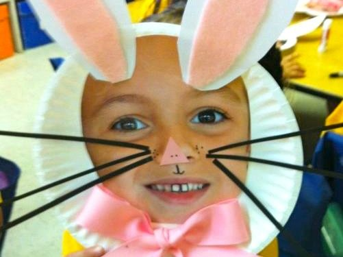Bunny Face Mask For A Preschool Easter Craft Smarty Pants Mama
