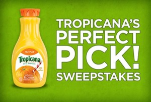 Tropicana Sweepstakes
