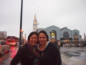 Leticia & I in San Francisco with Ebay Parent Panel