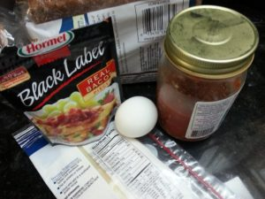 Breakfast Sandwich Ingredients