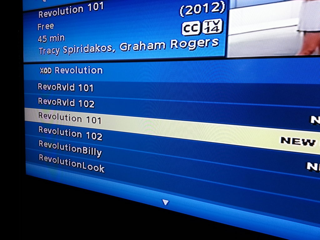 Revolution Season Premier