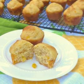 Peachy Corn Muffin