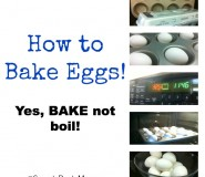 Baking Eggs
