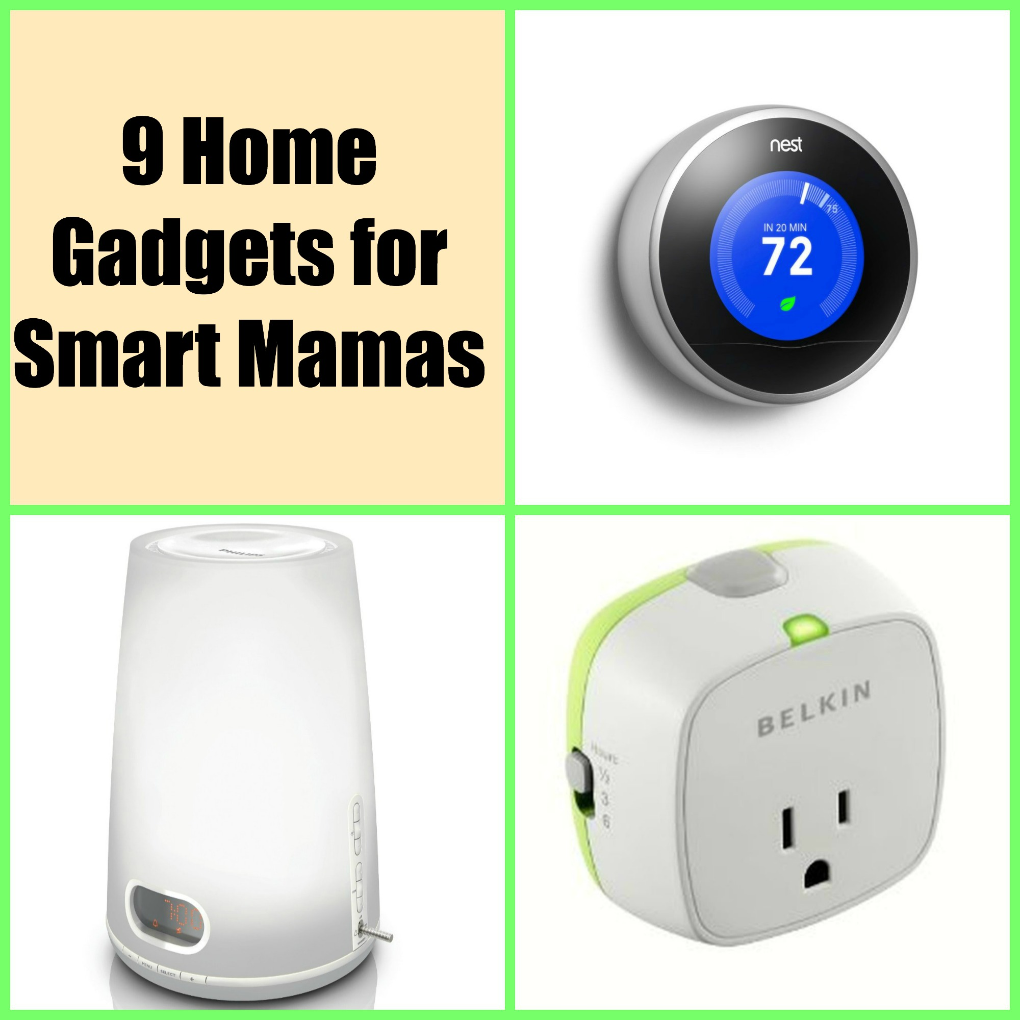 Smart Home Gadgets for 2013 - Smarty Pants Mama