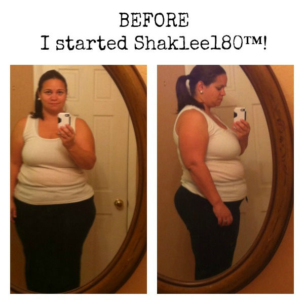 Shaklee180 Before