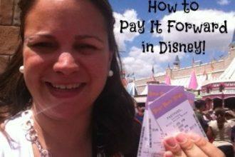 Pay It Forward in Disney