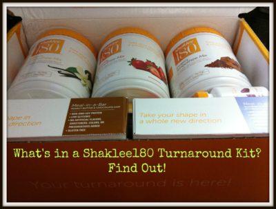 Shaklee180 Turnaround Kit