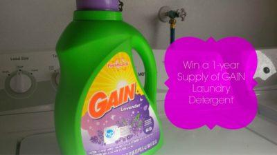 Gain Detergent Giveaway
