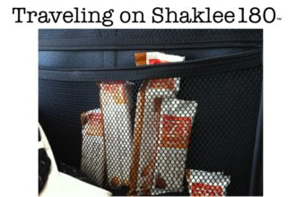Traveling on Shaklee 180