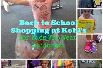 KOHLS Back to School