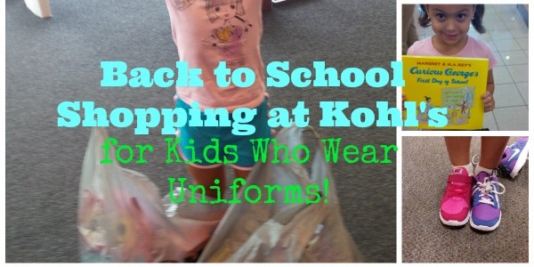 KOHLS Back to School