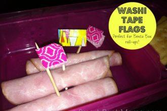 Bento Box Ides with Washi Tape