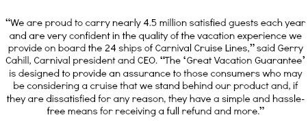 Carnival Guarantee