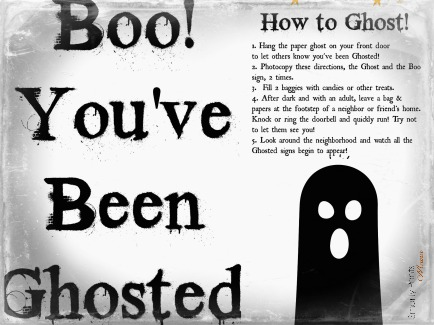 how to play the ghosted halloween game