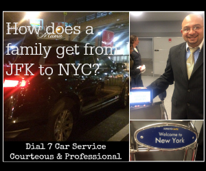 How does a family get from JFK to NYC?