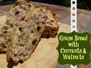 Grape Bread Recipe