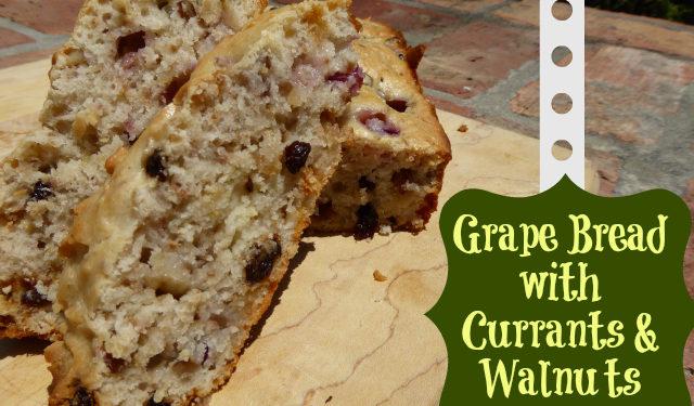 Grape Bread Recipe