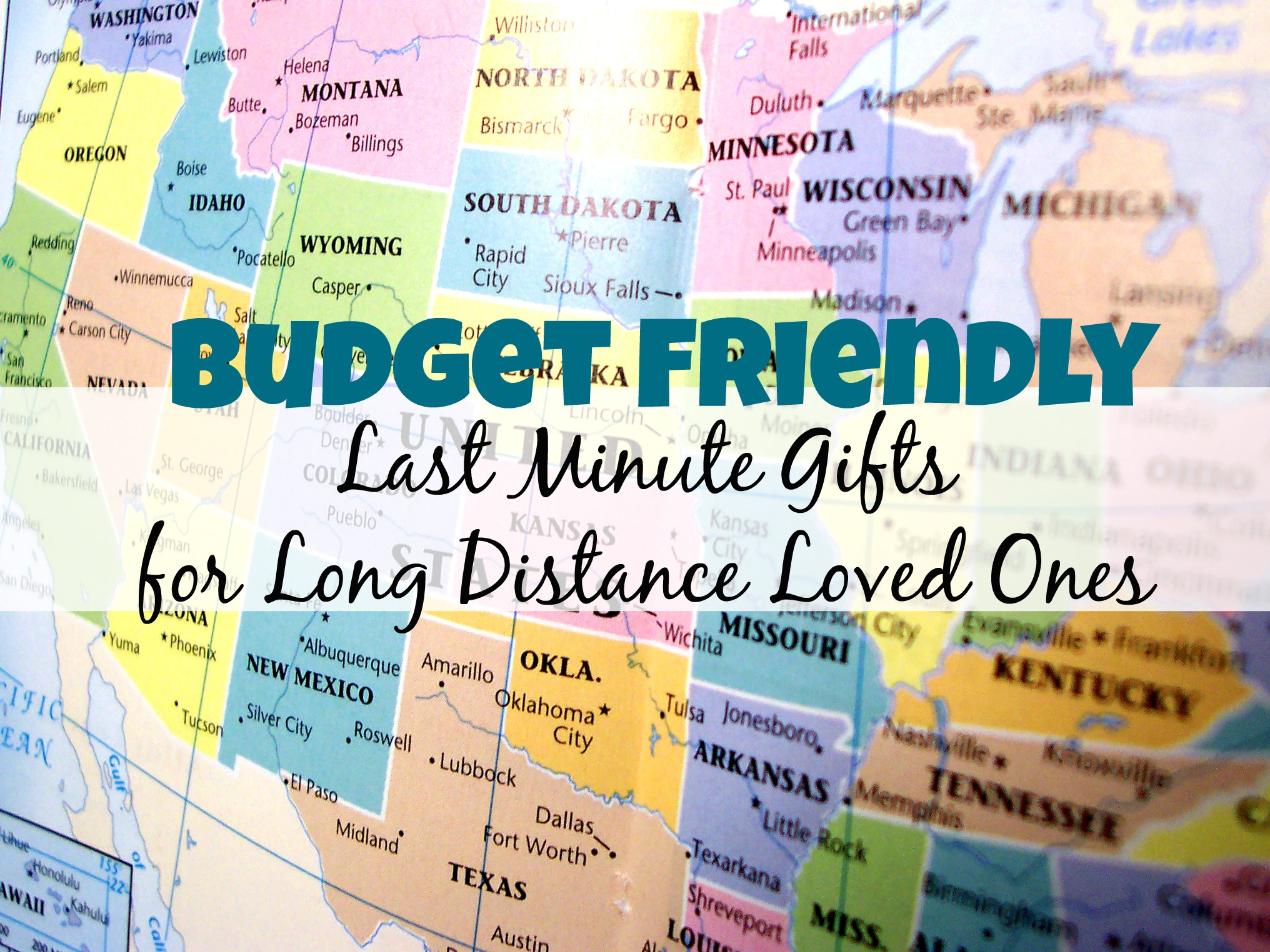 Last Minute Gift Ideas For Friends And Family Who Live Afar