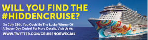 Norwegian's #HiddenCruise Details