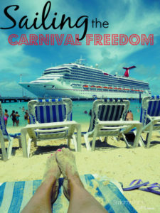Carnival Freedom for Adventurous FUN