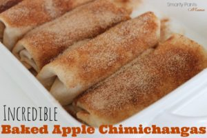 Baked Apple Chimichanga