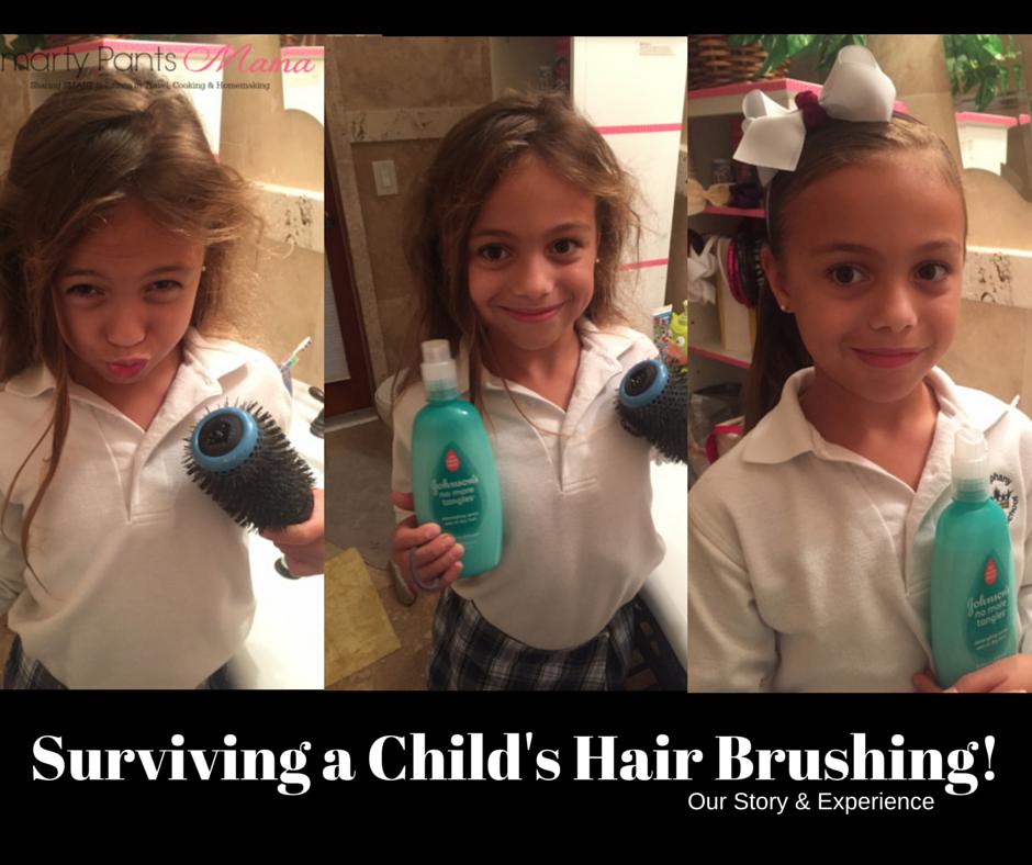 Preparing for Hair Brushing!