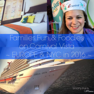Carnival Vista, The Latest Milestone