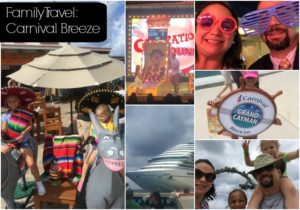 Cruising the Carnival Breeze