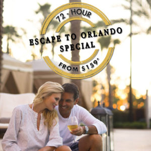 Flash Sale for Waldorf Orlando & Hilton Bonnet Creek