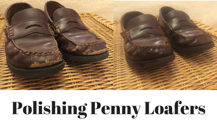 Polishing Penny Loafers