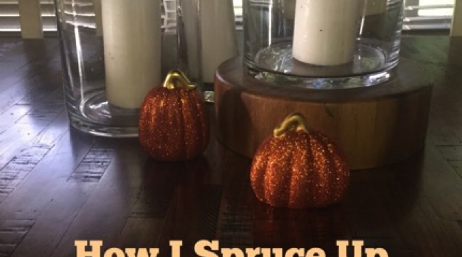 It does take a bit of work to get us autumn party ready at my home. I clean for thanksgiving and create autumn in my house with decorations.