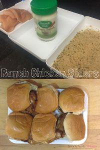 Ranch Chicken Sliders Recipe