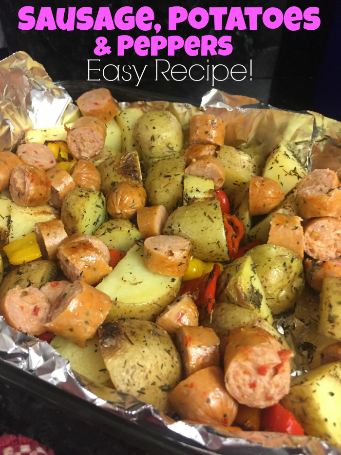 Sausage, Potatoes and Peppers Recipe