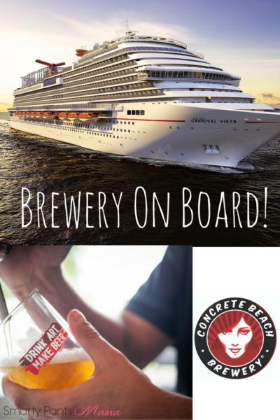 Carnival Vista Brewery