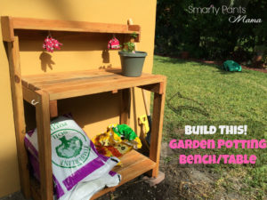 Building a Gardening Potting Bench