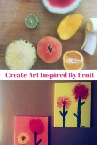 Tropical Inspired Art Project for Kids
