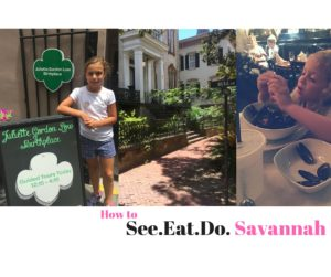 See Eat and Do Savannah GA