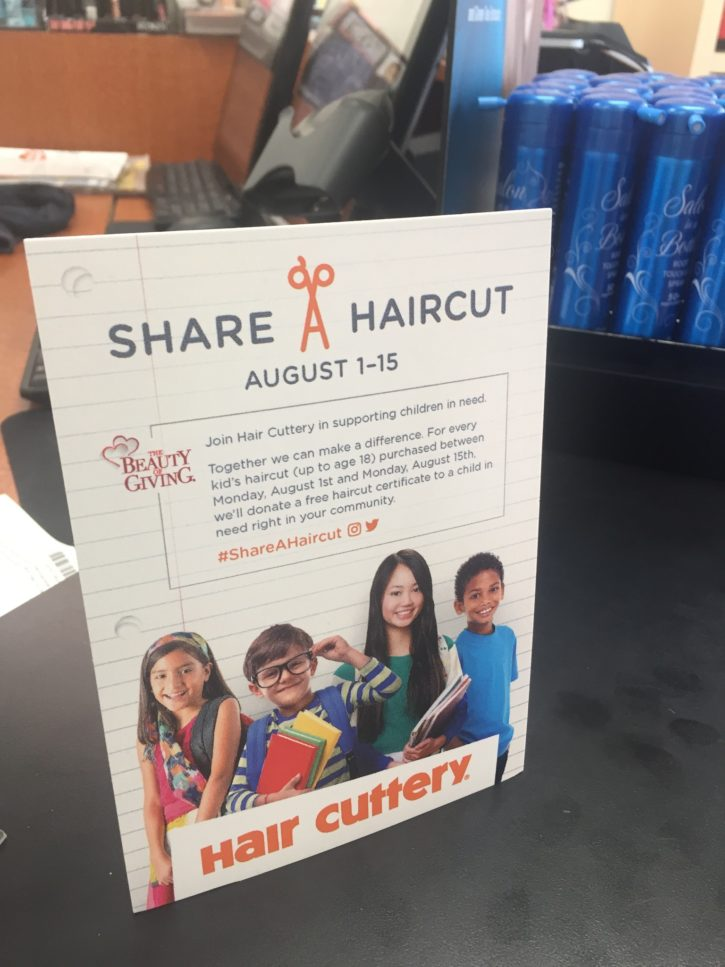 Back To School Haircut At Hair Cuttery