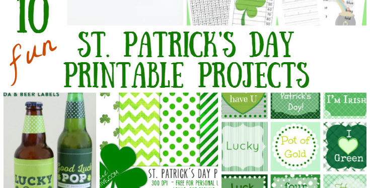 photograph about St Patricks Day Printable known as St. Patricks Working day Printables for the Household or Clroom